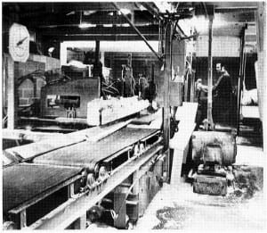 1975: A new mill is built Hammond Lumber