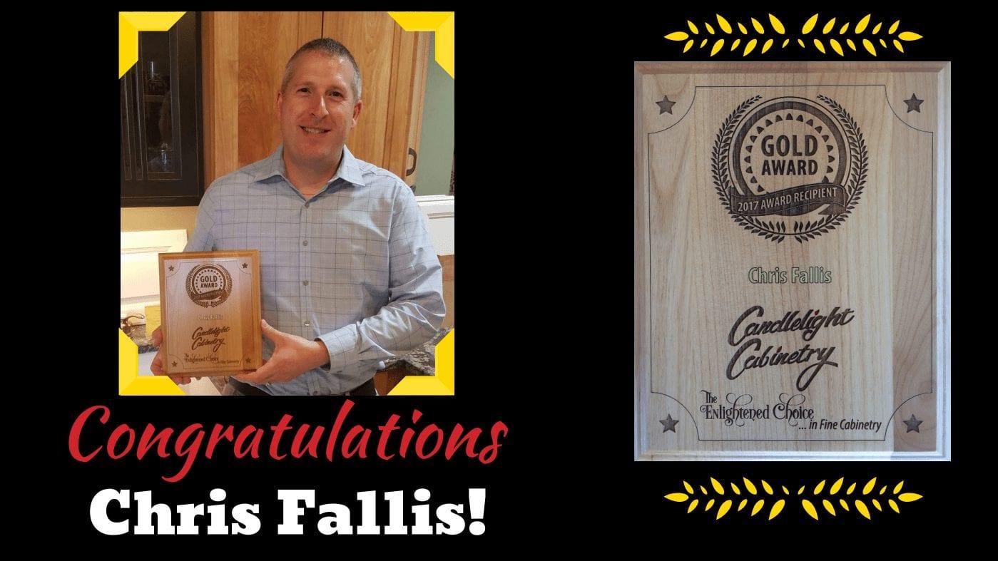 Congratulations Chris Fallis Hammond Lumber Company