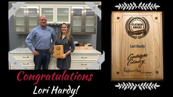 Lori Congratulations Hammond Lumber Bangor