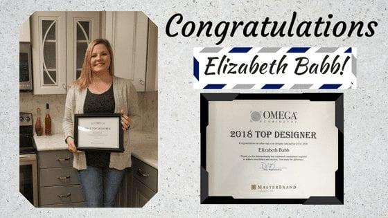 Congratulations Elizabeth Babb Kitchen Designer Hammond Lumber Company
