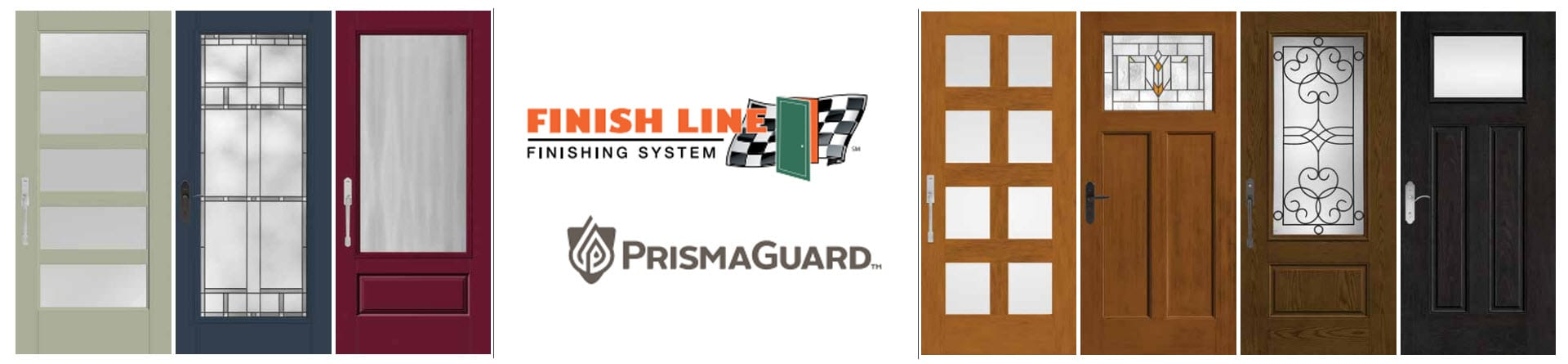 Finish Line Finishing System Featuring Prismaguard