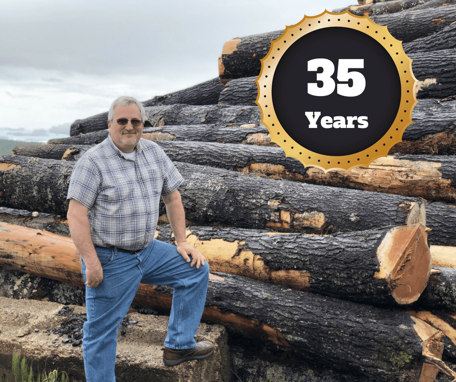 Matt Masse 35 Years with Hammond Lumber