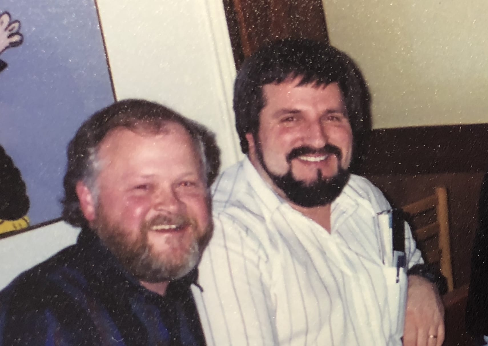 Matt Masse & Al Feather in 1996 Hammond Lumber Company