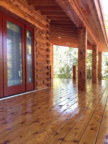 Ready Seal Pine Log Home Hammond Lumber Company Maine Pine Log Homes