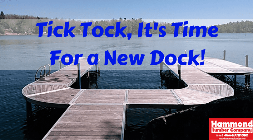 Tick Tock It's Time For a New dock