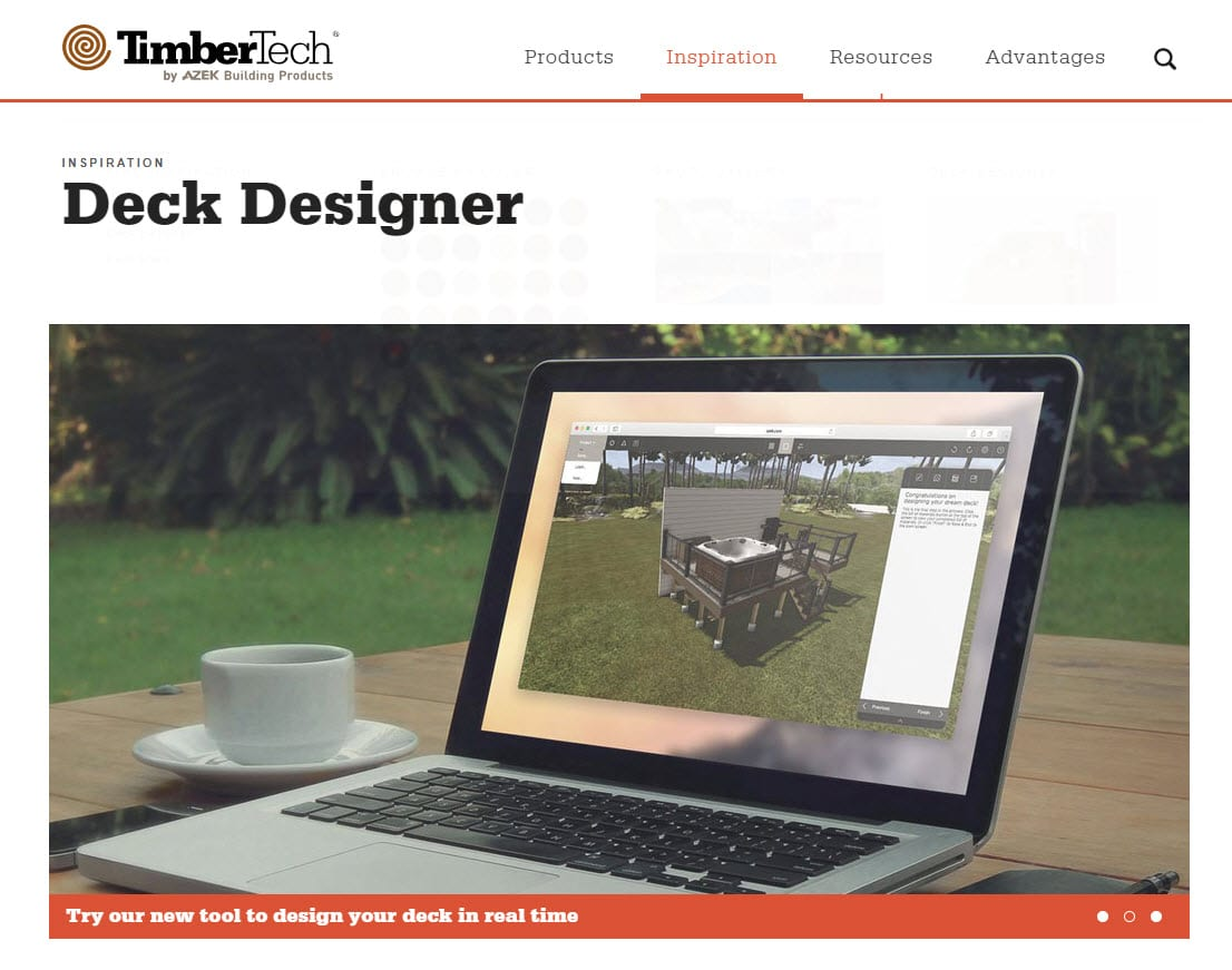 TimberTech Deck Designer App