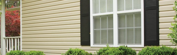 Vinyl Siding on a house Hammond Lumber Company