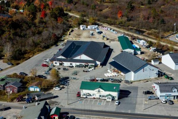 Ebs Machias Aerial Photo Hammond Lumber Company