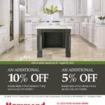 Omega Cabinetry Special Savings Hammond Lumber