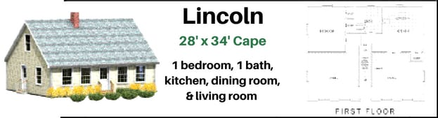 The lincoln Home Package by Hammond Lumber Company