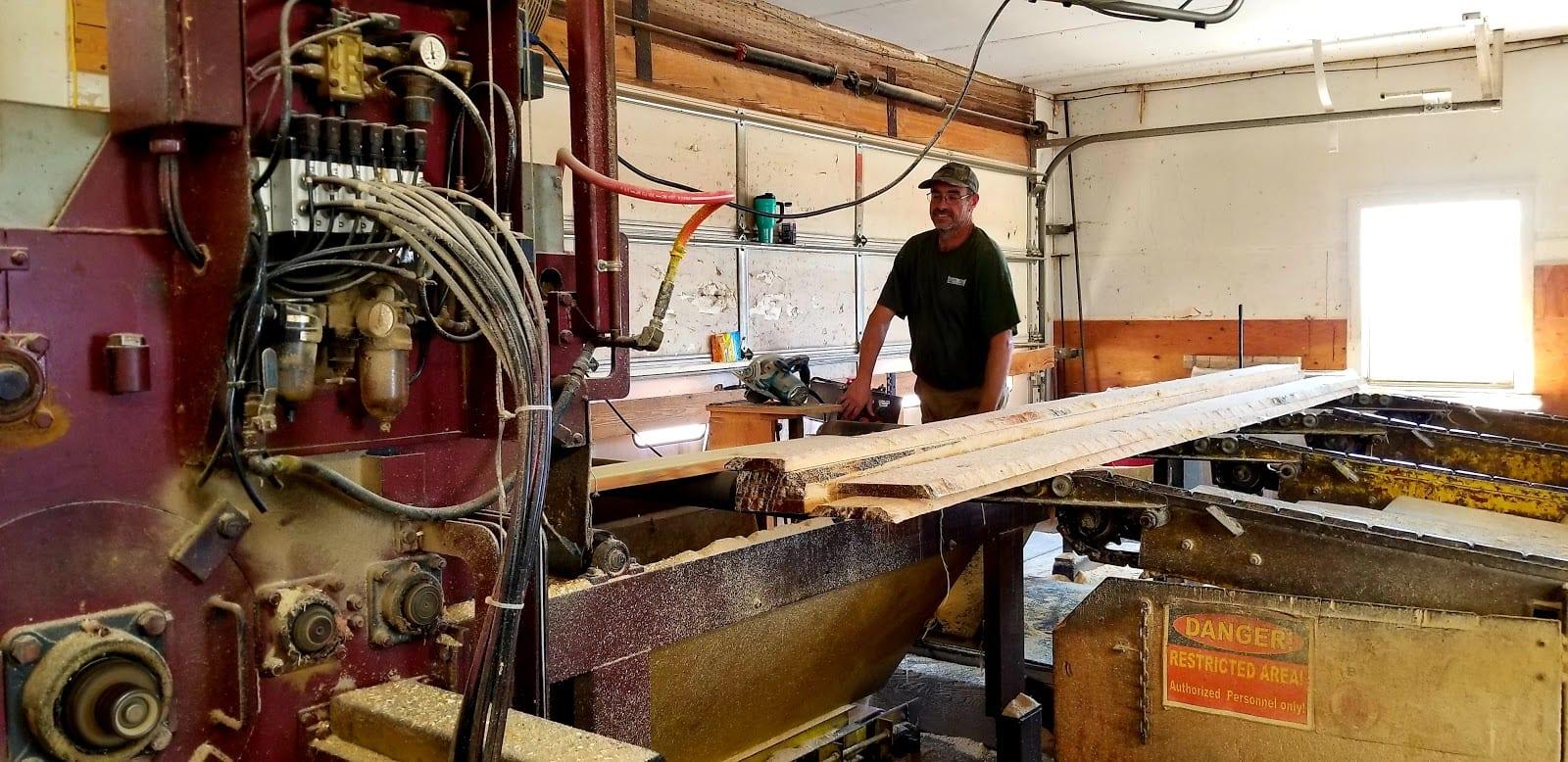 Hammond Lumber Company Sawmill