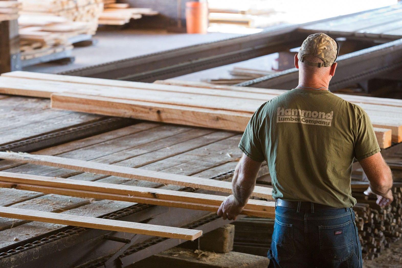Eastern White Pine & Hemlock Manufacturing - Hammond Lumber