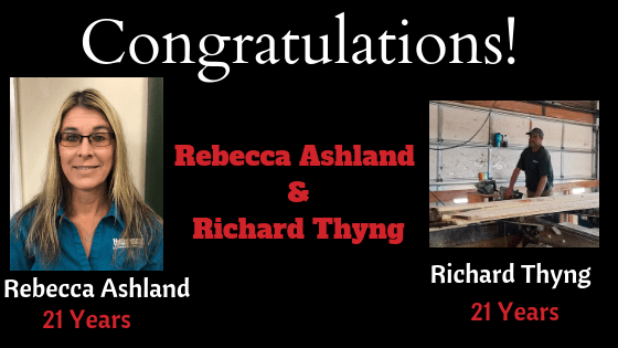 Congratulations Rebecca Ashland & Richard Thyng