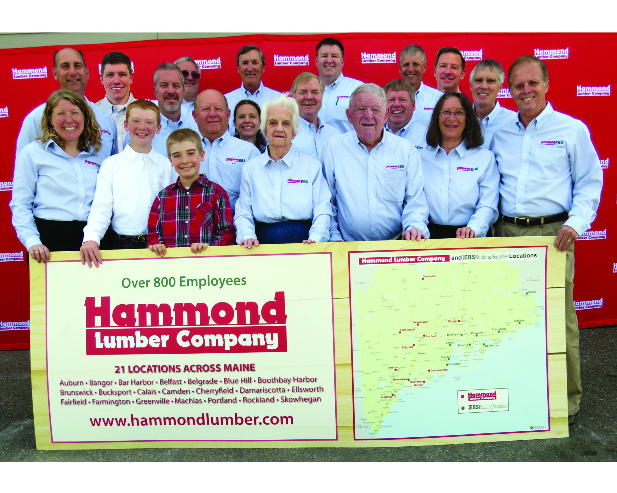 Hammond Lumber EBS Building Supplies Maine