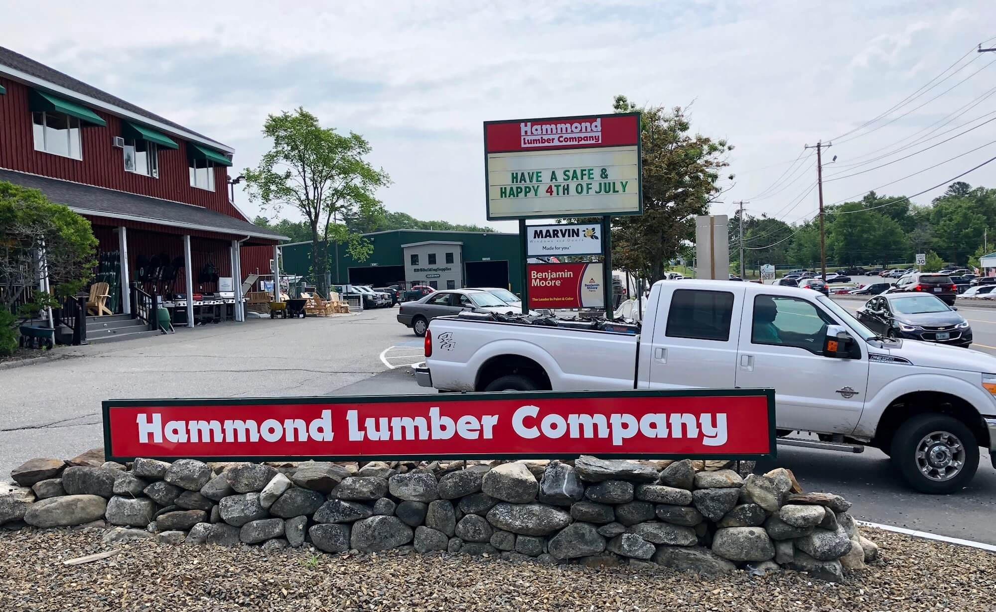 Hammond Lumber Company Ellsworth
