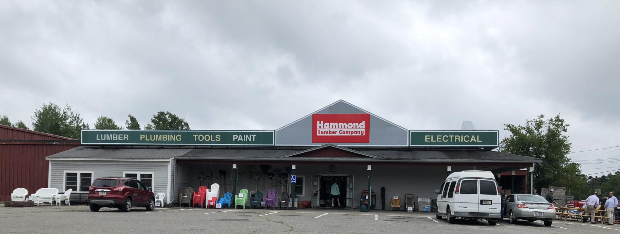 Hammond Lumber EBS Calais