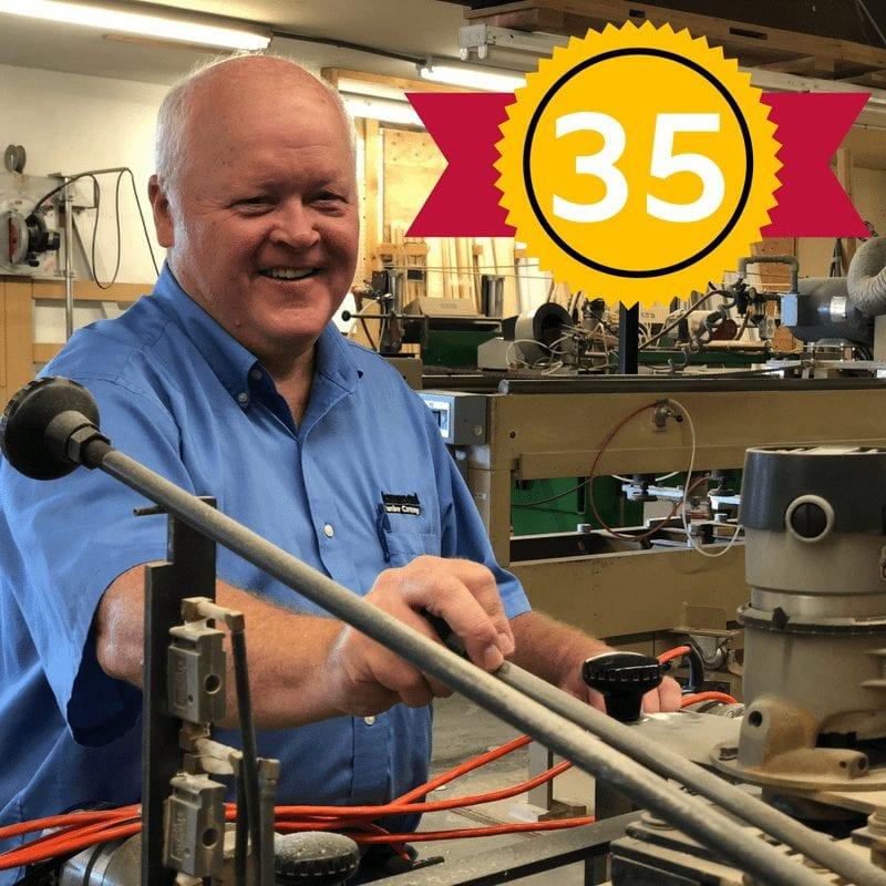 Steve Al Feather 35 Years with Hammond Lumber