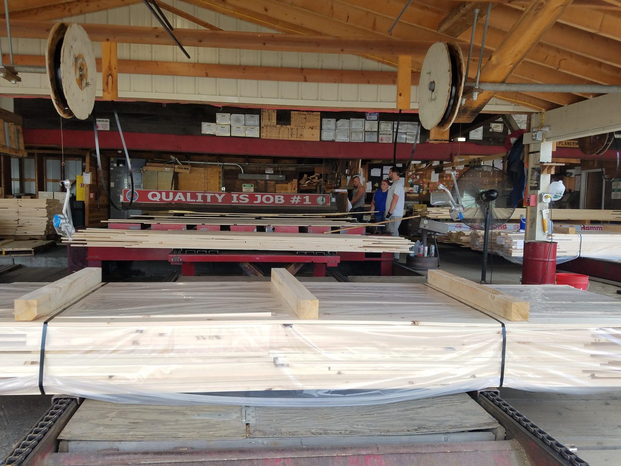 Planer Mill Quality Grading