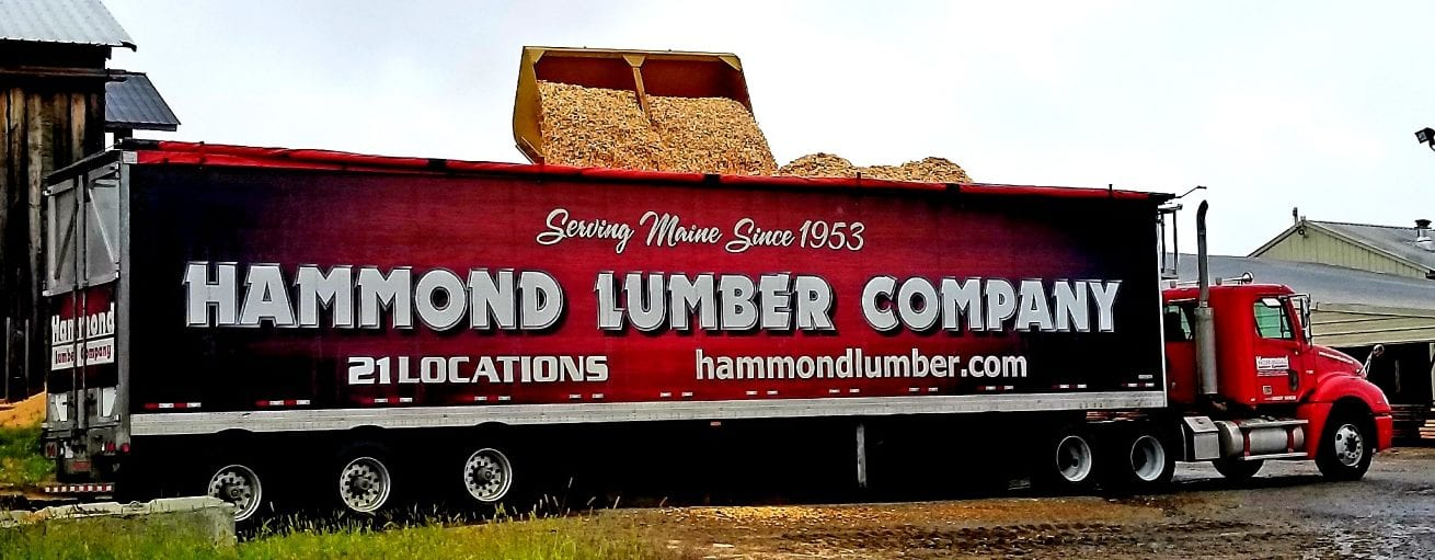 Hammond Lumber Chip Trailer