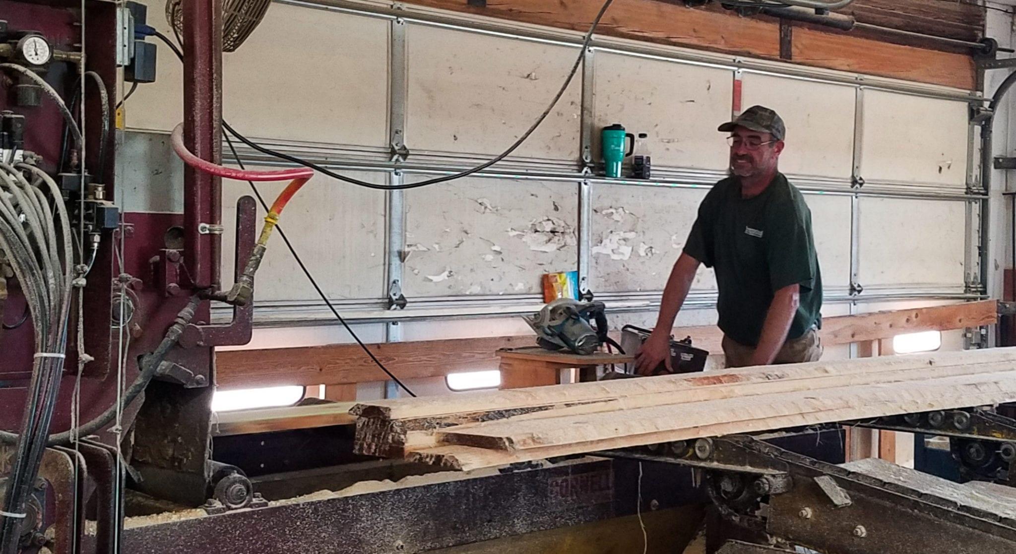 Hammond Lumber Company Richard Thyng Maine