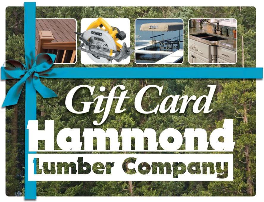 Hammond Lumber Company Gift Card