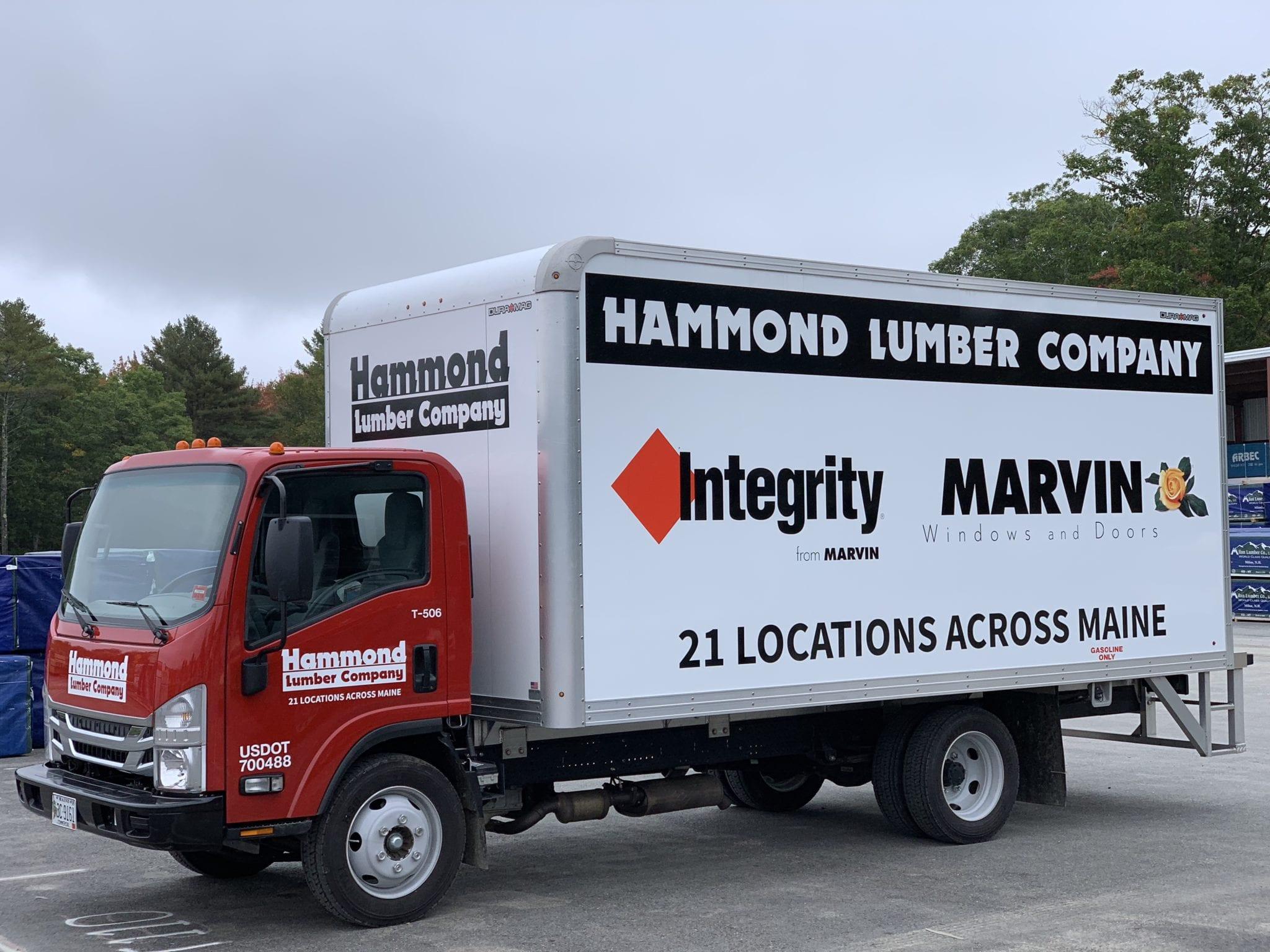 Hammond Lumber Company Box Truck