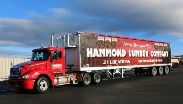 Hammond Lumber Chip Truck