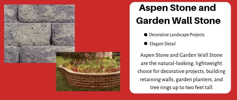 Aspen Stone & Garden Wall Stone