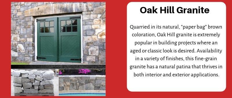 JC Stone Wall stone Oak Hill Granite