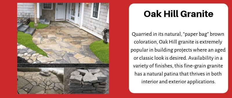 J.C. Stone Oak Hill Granite Flagging