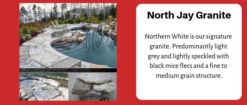 J.C. Stone North Jay Granite Flagging