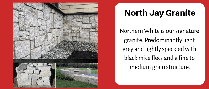 JC Stone Wallstone North Jay Granite