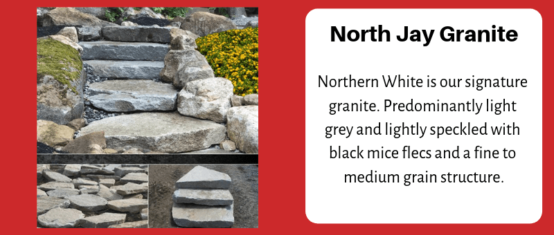 JC Stone Steps & Slabs North Jay Granite