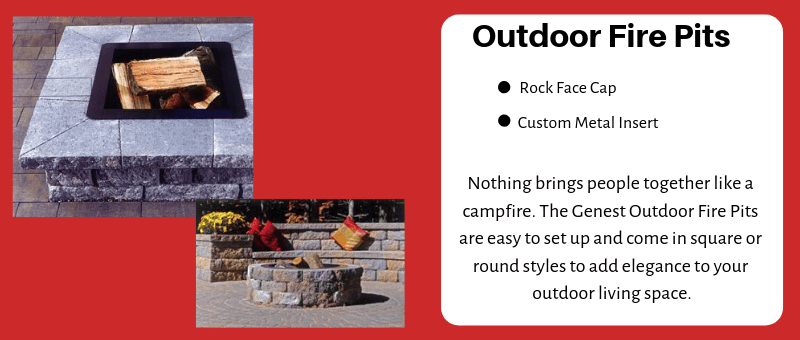 Genest Stone Fire Pits