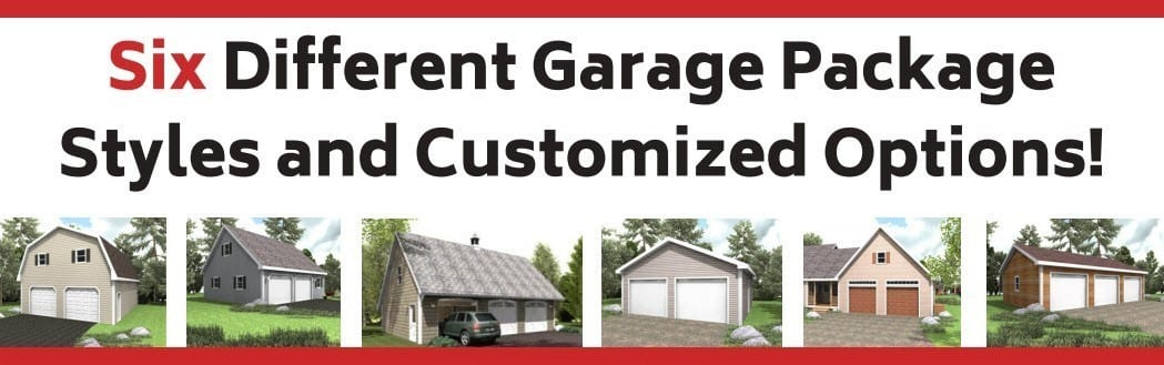 Hammond Lumber Company 6 Garage Package