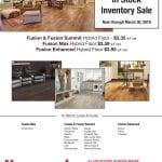 Hammond Lumber Company Fusion Hybrid Flooring Promotion