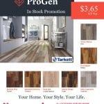Hammond Lumber Company Tarkett ProGen Promotion