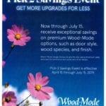 Wood-Mode Pick-2 Savings Event Hammond Lumber Company