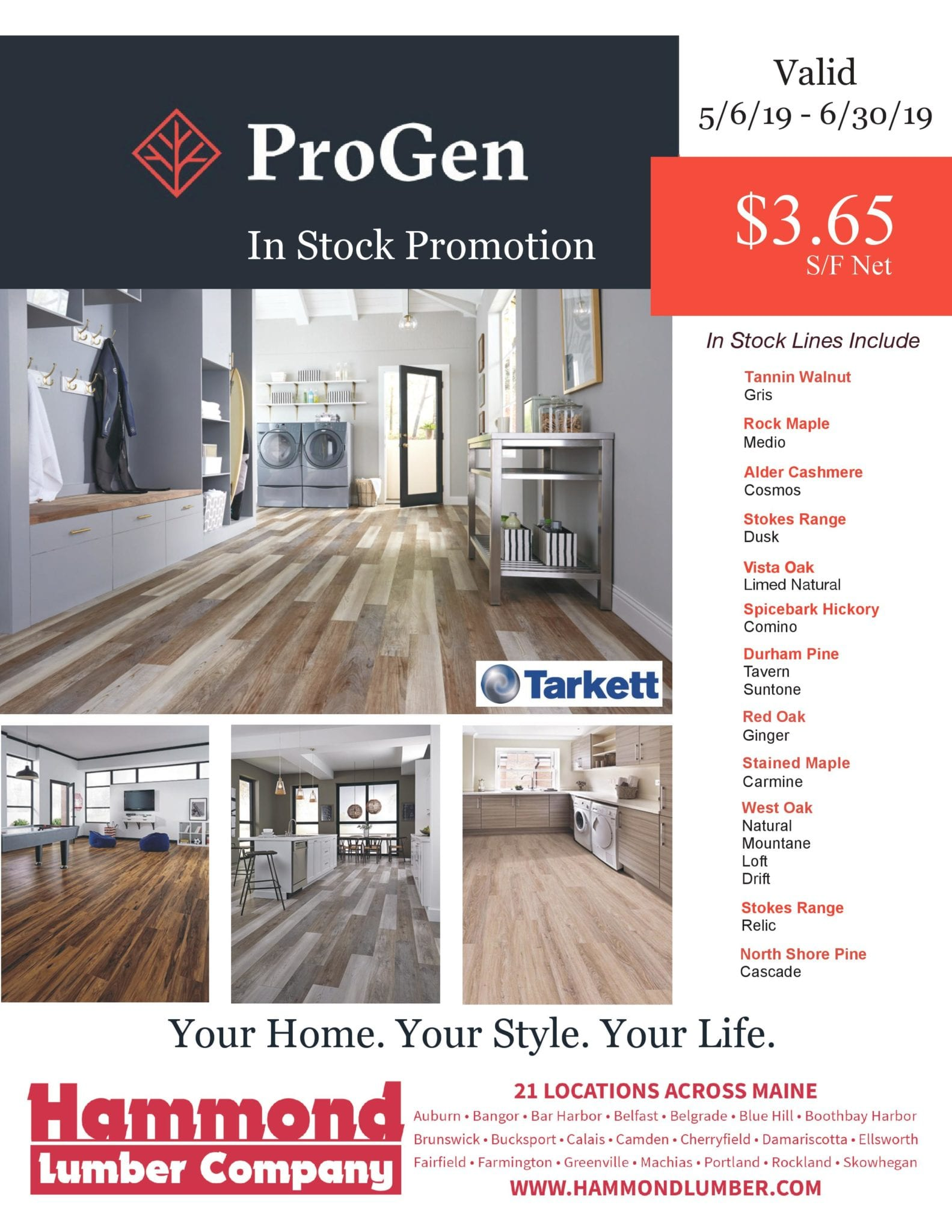 ProGen In Stock Promotion Hammond Lumber Company